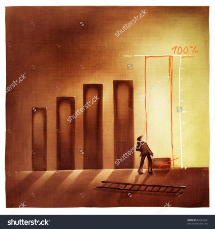 stock-photo-stylized-conceptual-business-chart-pretending-success-metaphor-artistic-loose-stylized-painting-85682626